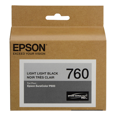 T760 Light Light Black Ultrachrome HD Ink Cartridge Image 0