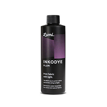 Inkodye Bottle 8oz Light Sensitive Dye (Plum) Image 0