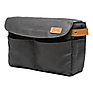 The Roma Camera Insert and Bag Organizer (Black)