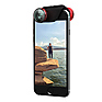 4-in-1 Photo Lens for iPhone 6/6 Plus (Red Lens with Black Clip) Thumbnail 1