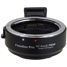 Canon EF Lens to Sony E-Mount Camera Pro Fusion Smart AF Adapter Image 0