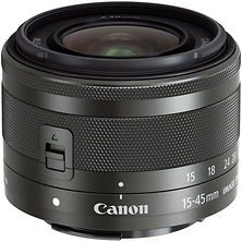 EF-M 15-45mm f/3.5-6.3 IS STM Lens (Graphite) Image 0