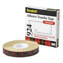 3M 1/2 In. Scotch ATG Adhesive Transfer Tape (Clear) Image 0