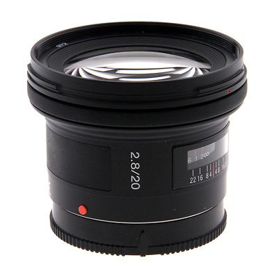 SAL-20F28 20mm f/2.8 AF Lens - Open Box Image 0