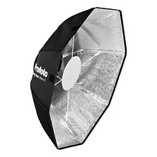 24 In. OCF Beauty Dish (Silver) Image 0