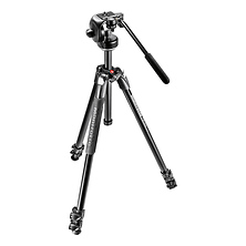 290 Xtra Aluminum Tripod with 128RC Micro Fluid Video Head Image 0