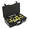 1525AirWD Carry-On Case (Black, with Dividers) Thumbnail 2