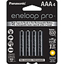 Eneloop Pro AAA Rechargeable Ni-MH Batteries (950mAh, Pack of 4)