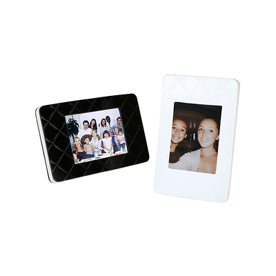 Instax Mini Film Picture Frames (Black/White 2-Pack) Image 0