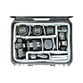 iSeries 1510-6 Case with Think Tank Designed Photo Dividers and Lid Organizer (Black) Thumbnail 5