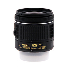 AF-P DX NIKKOR 18-55mm f/3.5-5.6G Lens - Pre-Owned Image 0