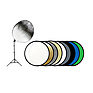 43 In. 9-in-1 Reflector Kit with Stand