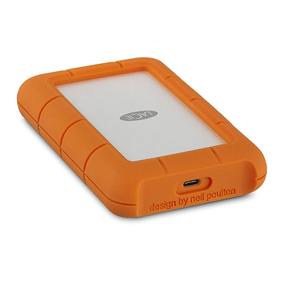 4TB Rugged USB 3.0 Type-C External Hard Drive Image 0
