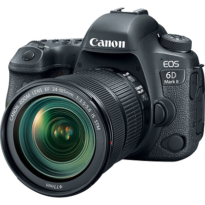 EOS 6D Mark II Digital SLR Camera with EF 24-105mm f/3.5-5.6 Lens Image 0