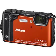 COOLPIX W300 Camera Orange - Open Box Image 0