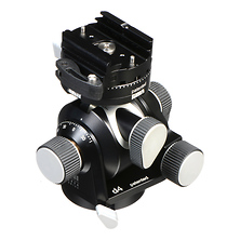 D4 Tripod Head with a FlipLock Lever Quick Release (Geared) Image 0