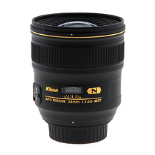 AF-S Nikkor 24mm f/1.4G ED Wide Angle Lens - Open Box Image 0