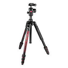 Befree Advanced Travel Al Tripod with Ball Head (Twist Locks, Red) Image 0