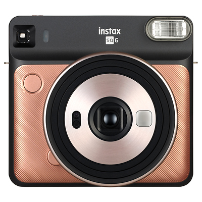 instax SQUARE SQ6 Instant Camera (Blush Gold) Image 0