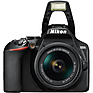 D3500 Digital SLR Camera with 18-55mm and 70-300mm Lenses (Black) Thumbnail 8