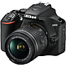 D3500 Digital SLR Camera with 18-55mm and 70-300mm Lenses (Black) Thumbnail 3