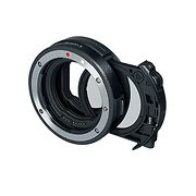 Drop-In Filter Mount Adapter EF-EOS R with Drop-In Circular Polarizing Filter A