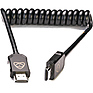 AtomFLEX HDMI (Type-A) Male to HDMI (Type-A) Male Coiled Cable (12 to 24 in.)