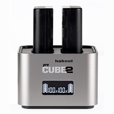 Hahnel Pro Cube 2 Charger for IQ and XF Batteries Image 0
