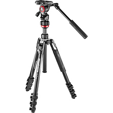 Befree Live Aluminum Lever-Lock Tripod Kit with Case Image 0