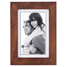 4 x 6 in. Stone Washed Picture Frame (Walnut) Image 0