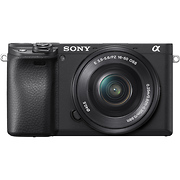 Alpha a6400 Mirrorless Digital Camera with 16-50mm Lens (Black)