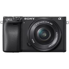 Alpha a6400 Mirrorless Digital Camera with 16-50mm Lens (Black) Image 0