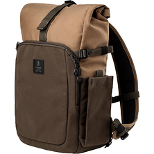 Fulton 10L Backpack (Tan and Olive) Image 0