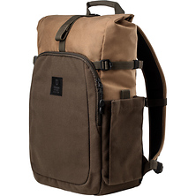 Fulton 14L Backpack (Tan and Olive) Image 0