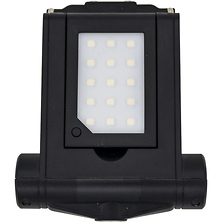 Smartphone Holder with Flip-Up LED Light Image 0