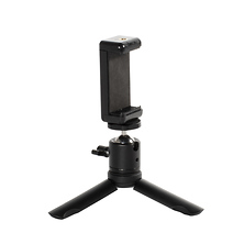 Phoneography Mini Tripod / Grip with Metal Ball Head and Phone Mount Image 0