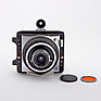 XLSW Camera with 47mm Lens, Orange Filter, and Generic Wide Angle Finder - Used