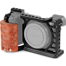 Cage Kit with Wooden Grip for Sony a6500 Image 0
