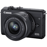 EOS M200 Mirrorless Digital Camera with 15-45mm Lens (Black)
