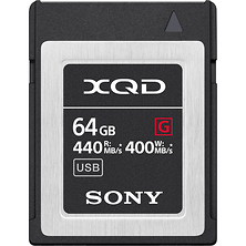 64GB G Series XQD Memory Card Image 0