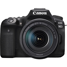 EOS 90D Digital SLR Camera with EF-S 18-135mm f/3.5-5.6 IS USM Lens Image 0