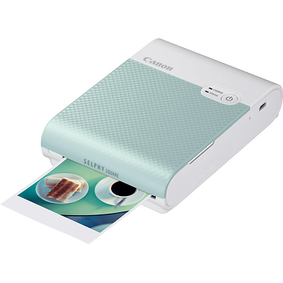 SELPHY Square QX10 Compact Photo Printer (Green) Image 0