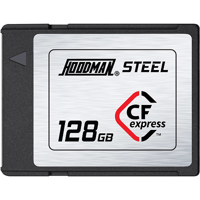 128GB Steel CFexpress Memory Card Image 0