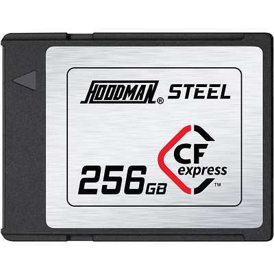 256GB Steel CFexpress Memory Card Image 0