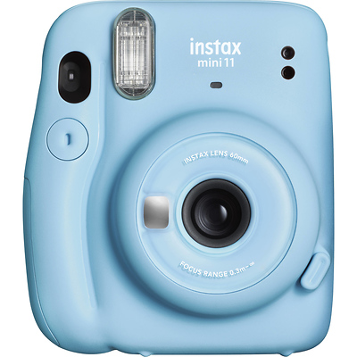 INSTAX Mini 11 Instant Film Camera (Sky Blue) Image 0