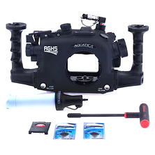 AGH5 Underwater Housing for Panasonic DC-GH5 w/ Vacuum System - Open Box Image 0