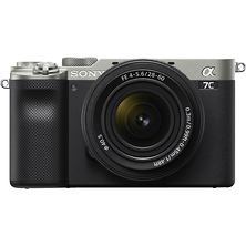 Alpha a7C Mirrorless Digital Camera with 28-60mm Lens (Silver) Image 0