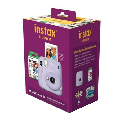 INSTAX Mini 11 Instant Film Camera Bundle (Lilac Purple) Image 0