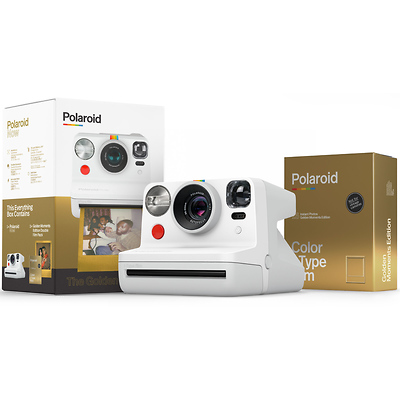 Now Instant Film Camera - The Golden Gift Box Bundle Image 0