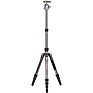 65.2 in. Bat One Series Aluminum Travel Tripod with VX20 Ball Head